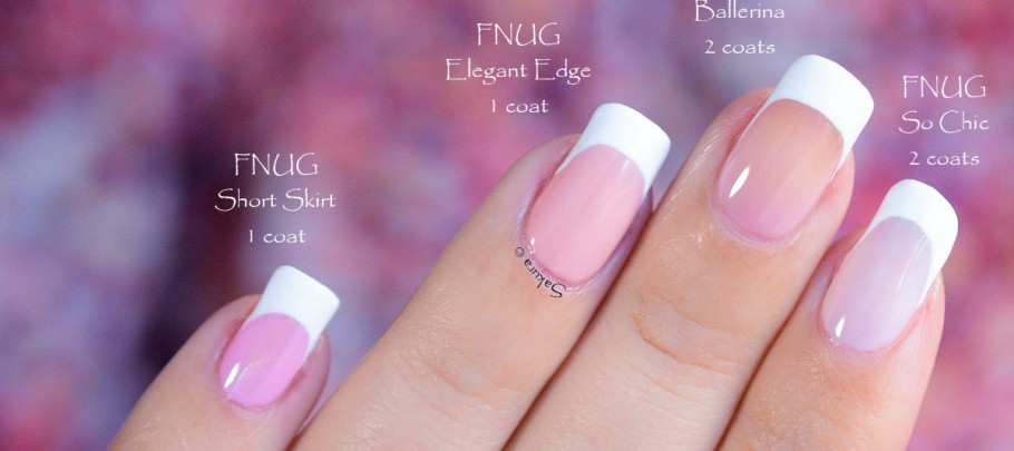 vernis fnug french manucure nail art sakura nail art sakura. Black Bedroom Furniture Sets. Home Design Ideas